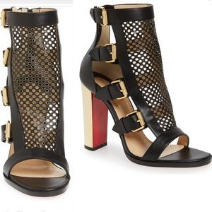 Christian Louboutin Fencing Gladiator Sandals